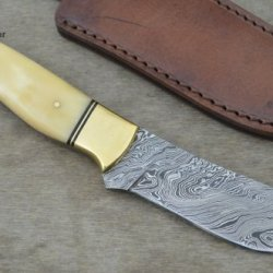 Huge Sale By Leather-N-Dagger | Professional High Quality Custom Handmade Damascus Steel Hunting Knife (100% Satisfaction Guaranteed) Great Gift Ld164