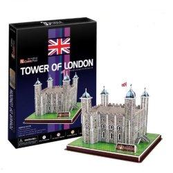 Ezhishop Tower Of London Diy 3D Puzzle Model Toy-40 Pieces