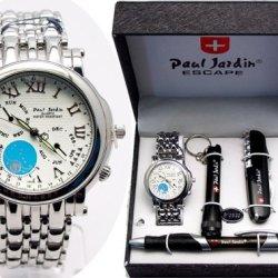 Wonderful Paul Jardin Men'S Watch Gift Box Set