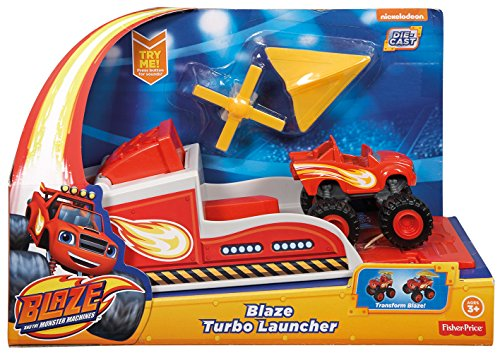 Blaze y los Monster Machines - Turbolanzador Fisher-Price (Mattel CGK15)