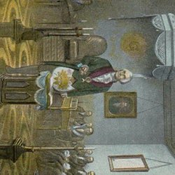 """Collectible * Masonic Postcards, Set Of Eight 5 1/2 """" X 3 1/2"""" """"George Washington At Alexandria Memorial, Various Scenes And Relics Of This Famous Mason - From Hibiscus Express"""