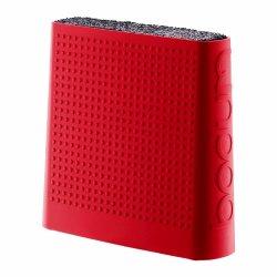 Bodum Bistro Universal Knife Block, Red