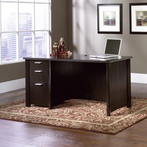 Picture of Comfortable Computer Desk - Wind Oak Finish (B005MLMT9C) (Computer Desks)