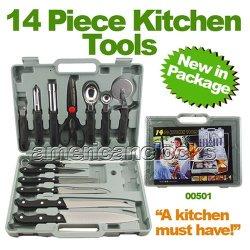Full-Tang Chef Carving/Paring Knife Kitchen Tools Set