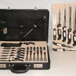 Cutlery Set 24 Piece Stainless Steel Bochmayer Knife Set