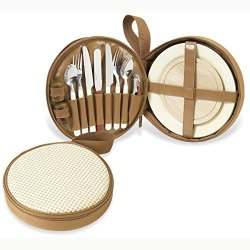 Picnic At Ascot Bahamas Collection Deluxe Travel Picnic Or Snack Set For 2