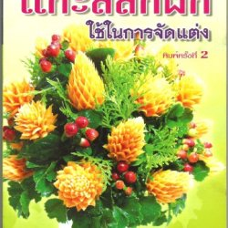 Carving Book Thai Fruit Vegetable Carving Book For Decoration Learn Step By Step