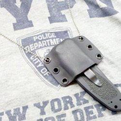 Kershaw Large Folder Knife Custom Kydex Sheath - Black Color