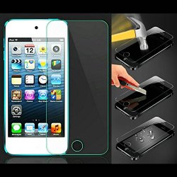 Etech Collection 1 Piece Of Premium Tempered Glass Screen Protector For Apple Ipod Touch 5Th Generation (0.3Mm) 9H Hardness With Oleophobic Coating - Free Shipping From Usa