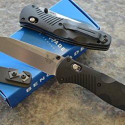 Benchmade 583 Barrage Assisted Opening Knife With Free Benchmade Sharpener