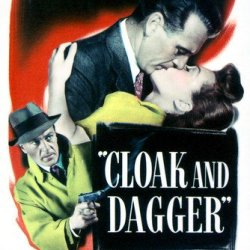 Gary Cooper And Lilli Palmer In Cloak And Dagger 24X36 Poster