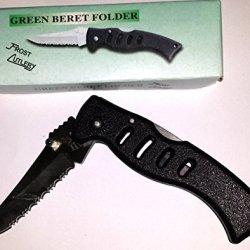Frost Green Beret Folder