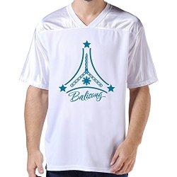 Lfd Men'S Balisong American Football Jerseys White