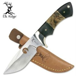 Elk Ridge Er-073 Outdoor Fixed Blade Knife 8-Inch Overall