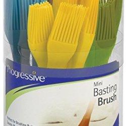 Progressive Mini Basting Brush Flexible Silicone Assorted Colors