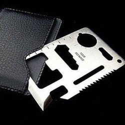Joylive Multifunction Camping Survial Tool Mini Creidt Card Knife In 1 Outdoor Emergency New