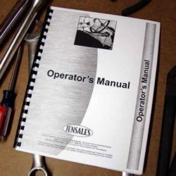 International H&, Foot & Power Sickle Knife Sharpeners Parts Manual Operator'S
