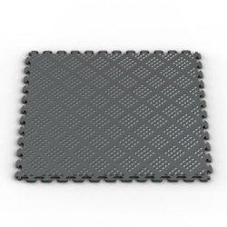 Norsk-Stor Nsmprd6Mg  Raised Diamond Multi-Purpose Pvc Flooring, Metallic Graphite, 6-Pack