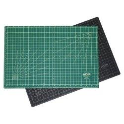 Adir Professional Self Reversible Healing Cutting Mat, 18 By 24-Inch, Green/Black