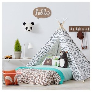 Teepee-Gray-White-Pillowfort