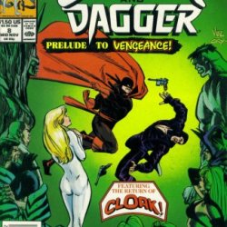 The Mutant Misadventures Of Cloak And Dagger #8 (Marvel Comic Book 1989)
