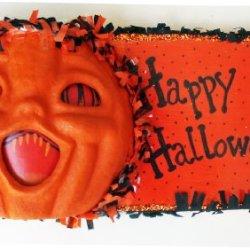 Halloween Decorations - Shrieking Pumpkin Wall Art - Happy Halloween Wall Decor By Christopher James - Made In America - Halloween Wall Art