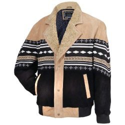 Incomparable Coats Standout Apparel Sw Suede Leather Jacket- L Exclusive