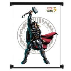 Marvel Vs Capcom 3 Thor Game Fabric Wall Scroll Poster (32X42) Inches