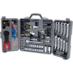 Wilmar Performance Tool W1519 Tri-Fold Set With Cable Tie, 265-Piece