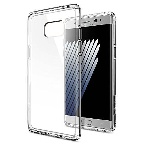 Galaxy-Note-7-Case-Spigen-Ultra-Hybrid-AIR-CUSHION-Crystal-Clear-Clear-back-panel-TPU-bumper-for-Samsung-Galaxy-Note-7-2016-562CS20555