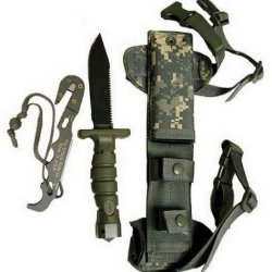 Asek Survival Knife System-Acu Digital