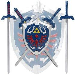 Legend Of Zelda Mini Sword Set With Shield Legend Of Zelda Mini Sword Set With Shield