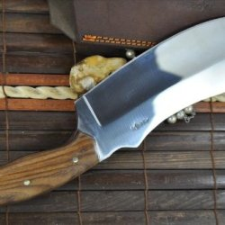 Hunting Knife - O1 Tool Steel - Handmade Kitchen Knife - Amazing Value Limited Offer
