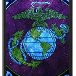 Lilichen Cool Design Forever Collectible Usmc Marine Corps Case Cover For Iphone 5C(Laser Technology) -- Desgin By Lilichen