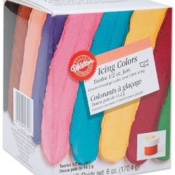 Wilton 1/2-Ounce Certified-Kosher Icing Frosting Food Colors Set Of 12 New