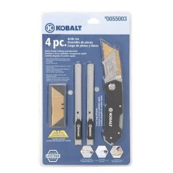 Kobalt 201087 4 Pc. Knife Set