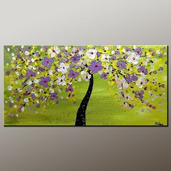 Original Painting Oil Painting Flower Painting Contemporary Artwork Modern Art Canvas Art Impasto Texture Palette Knife Oil Painting Impressionism Wall Art Canvas Painting