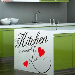 Top-Me Christian Kitchen Wall Decal | Enjoy Sip And Savor All The Flavors Of Life Tm8243
