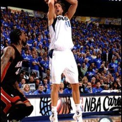 Dirk Nowitzki Game 5 Of The 2011 Nba Finals Action(#22) Art Poster Print Unknown 8X10