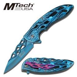 New M-Tech Ao Flaming Blue Folder