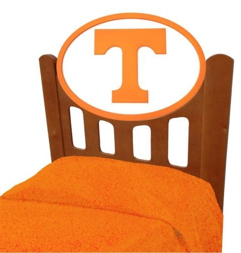 Image of Tennessee Volunteers Vols UT Kids Wooden Twin Headboard With Logo (C0526S-Tennessee)
