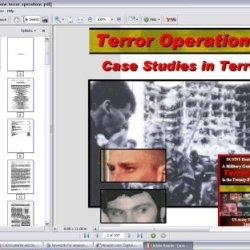 Terror Operations, Case Studies In Terrorism