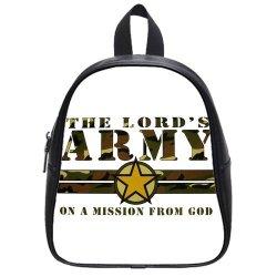 Jdsitem Creative Quotes Army Camouflage Camo Design Size S Backpack School Bag Satchel
