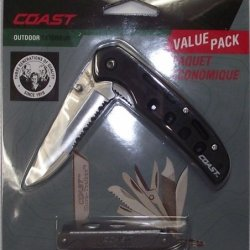 Coast Folding Knife And Tool Box