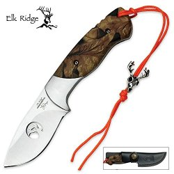 Elk Ridge Ep-004Ca Professional Fixed Blade Knife, 7-Inch Overall