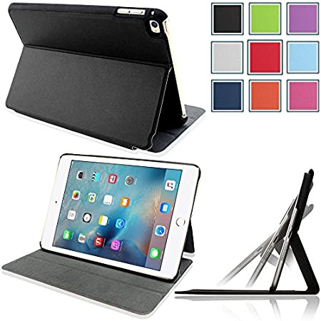NOTE:This case only fits the iPad Mini 4 (4th Gen) Tablet, It will not work for iPad Mini or any other model tablet. This exclusive HOTCOOL smart cover will wear well and maintain the look of your device. > With precision cut outs all the cam...