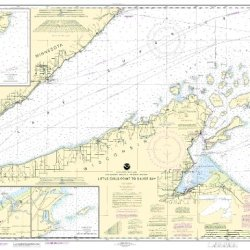 14966--Little Girls Point To Silver Bay, Including Duluth And Apostle Islands - Cornucopia Harbor, Port Wing Harbor, Knife River Harbor, Two Harbors