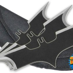 A-Tk-080-3 7.75 Inch Bat Throwing Knives W/ 3V1Xpuk7Id Case Uuzz1Q (Set Of 3) Folding Knife Edge Sharp Steel Ytkbio Tikos567 Bgf 3 Bat Man Shaped Throwing Knives Each Measures 7.75 Inches Long And Weighs 4.8 Oz X8Ojfjnl In Black Color W/ Silver Ends. Come