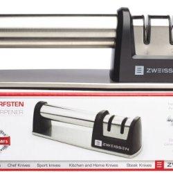 Zweissen Shärfsten 2-Stage Diamond Grit Manual Knife Sharpener - Chrome