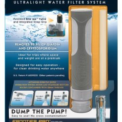 Aquamira Frontier Pro Ultralight Water Filter